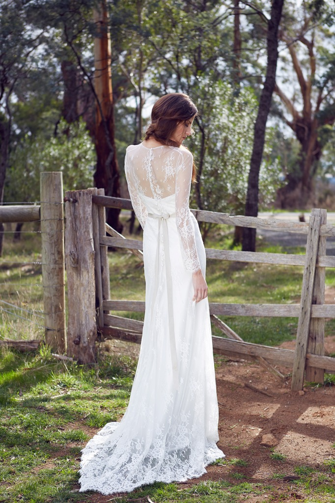 KWH Bespoke Wedding Gown Arielle with Nadia Slip