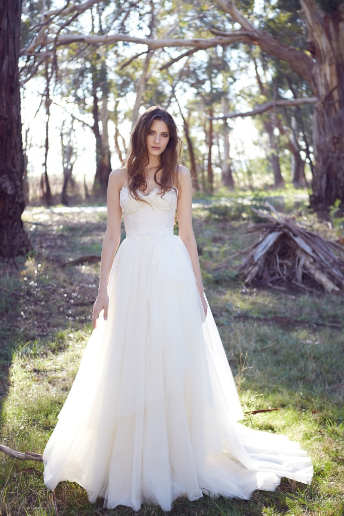 KWH Bespoke Wedding Gowns Saskia, a ball gown wedding dress in tulle