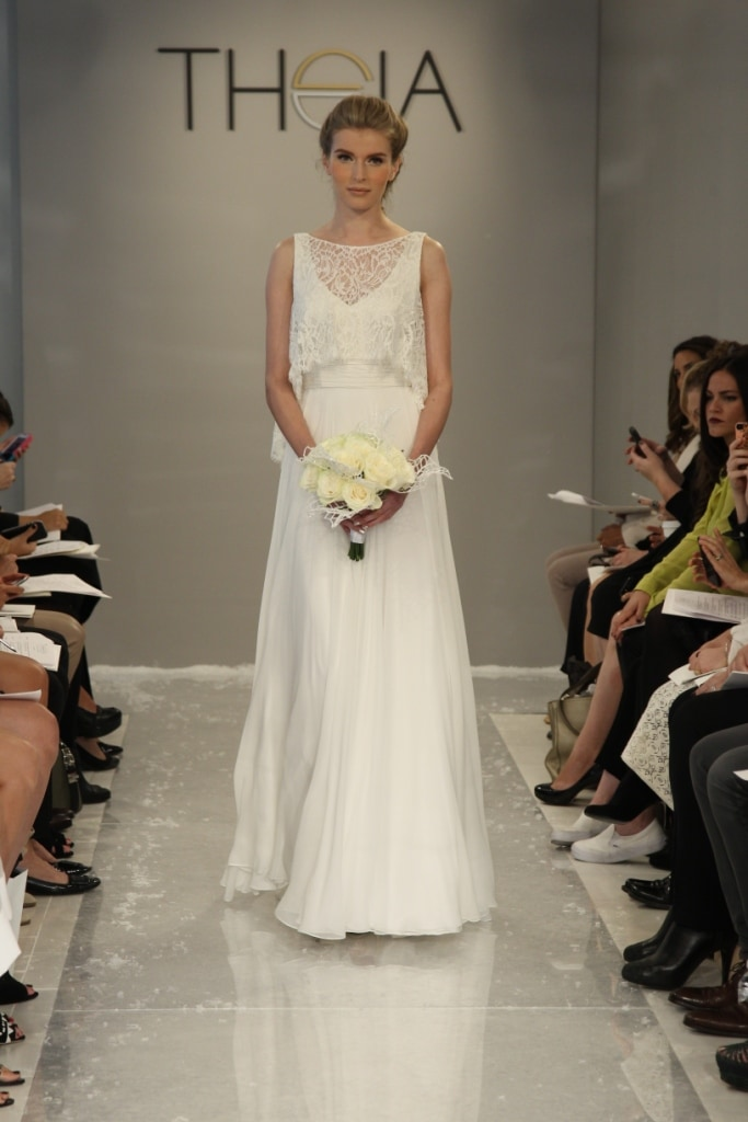 Naima Wedding Dress Theia White Collection Fall 2015