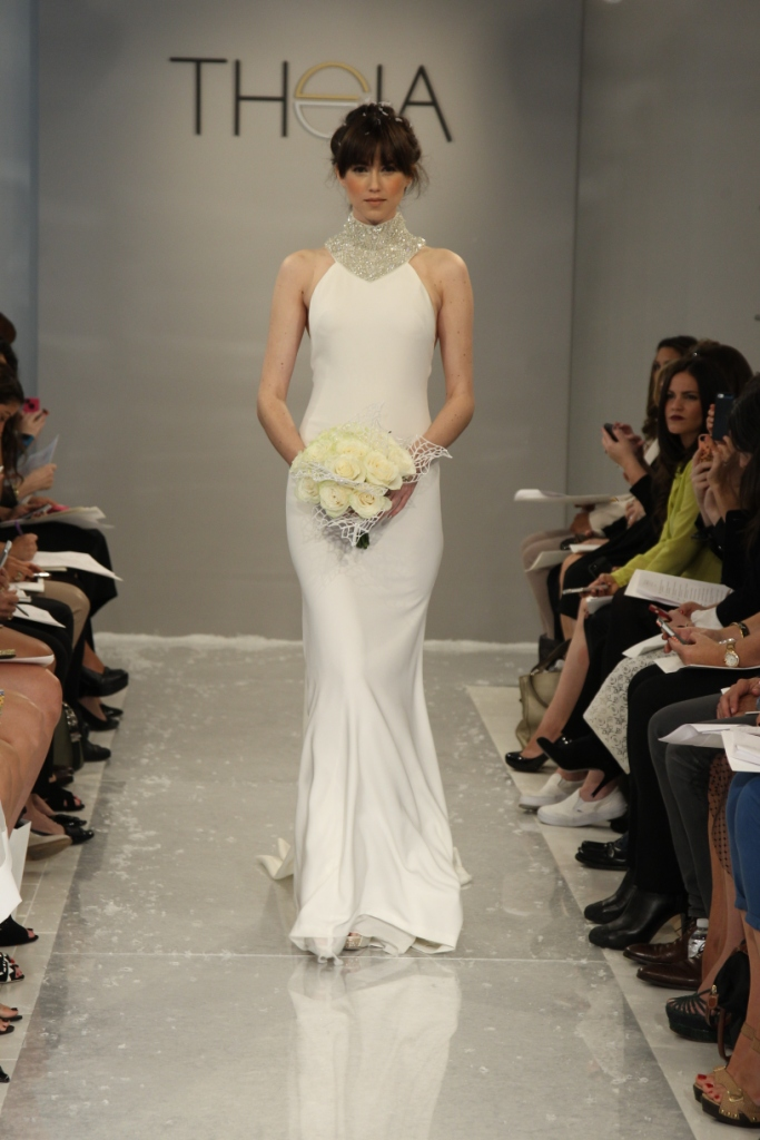 Arianna Wedding Dress Theia White Collection Fall 2015