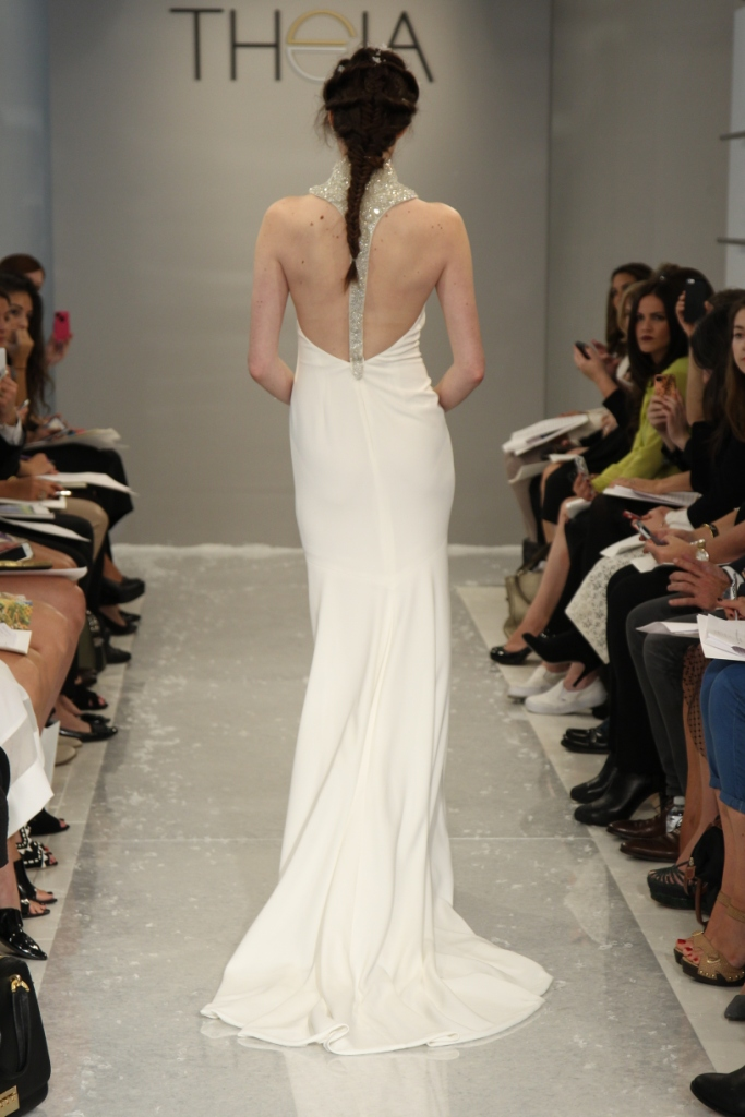 Look 13-AriannaBack Wedding Dress Theia White Collection Fall 2015