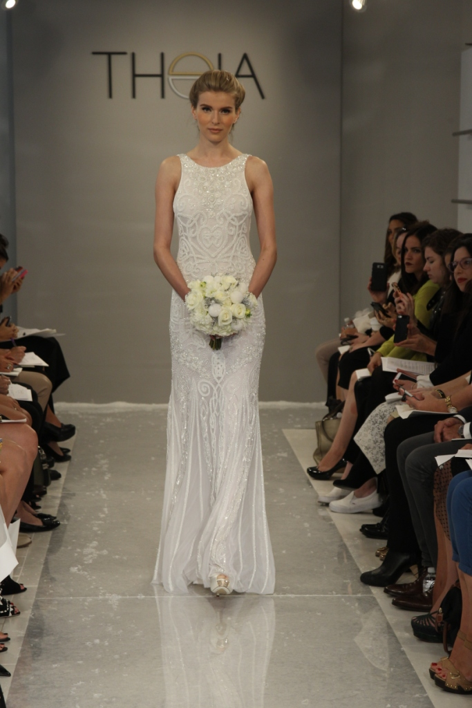 Tara Wedding Dress by Theia White Collection Fall 2015