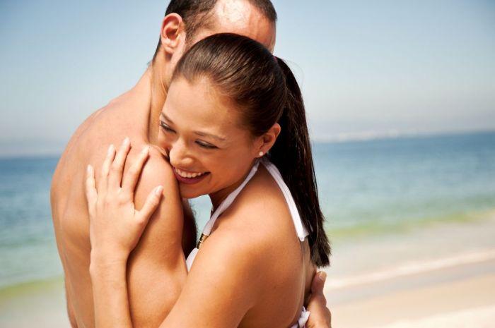 Puerto Vallarta Romance -Couple at beach 2