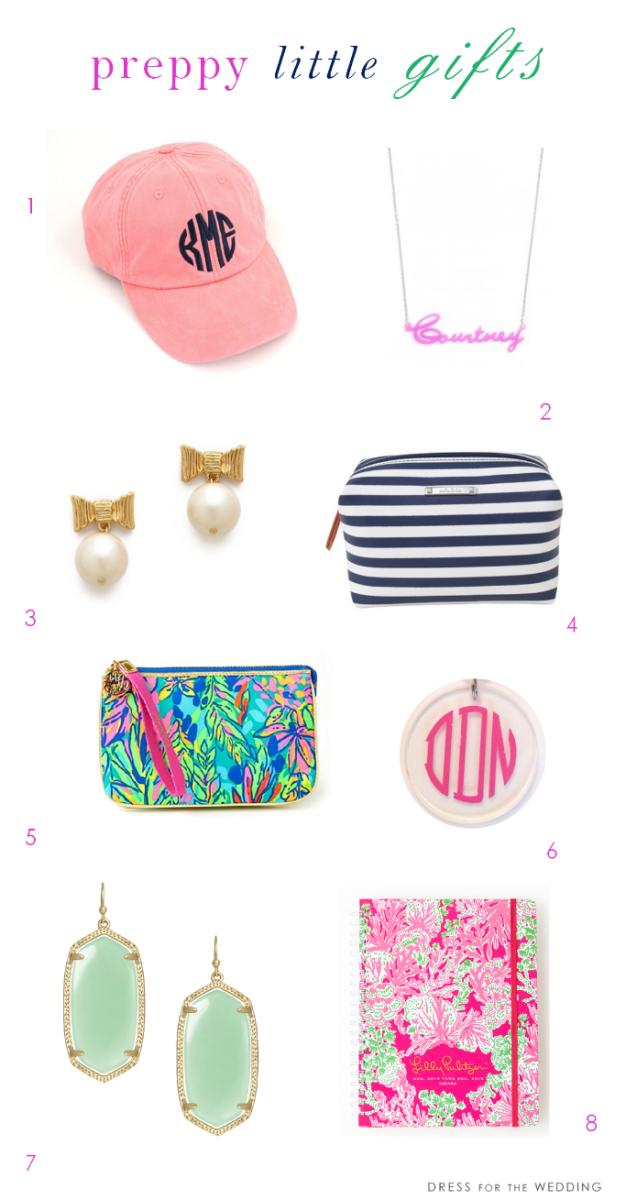Preppy little gift ideas