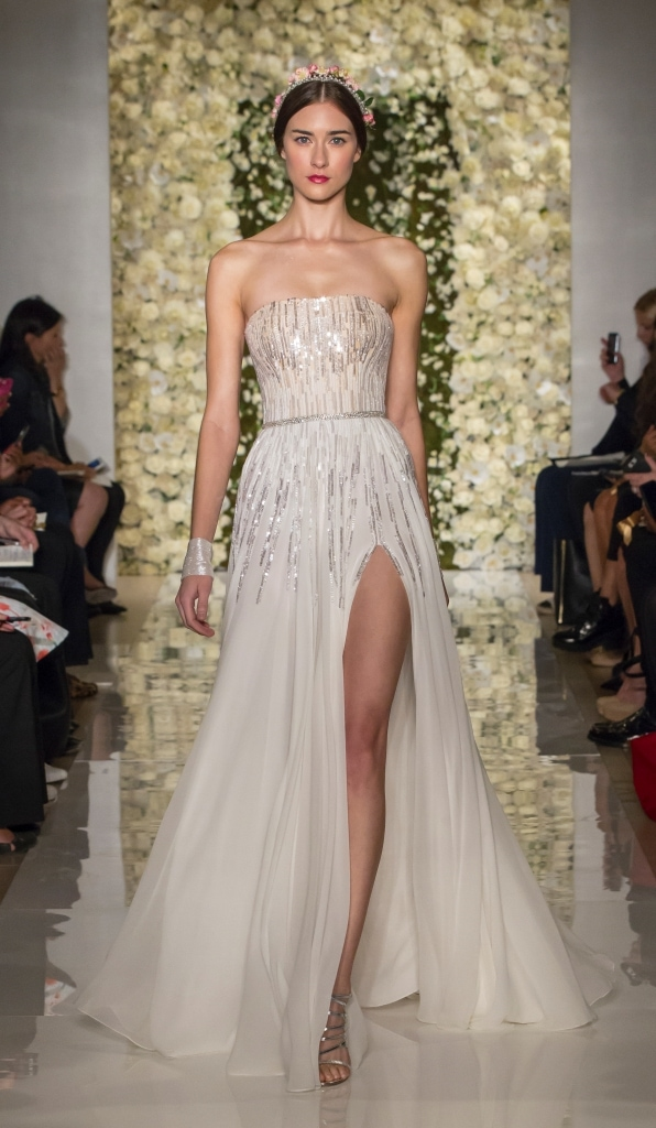 wedding dress of the day reem acra i m a sensation bridal gown