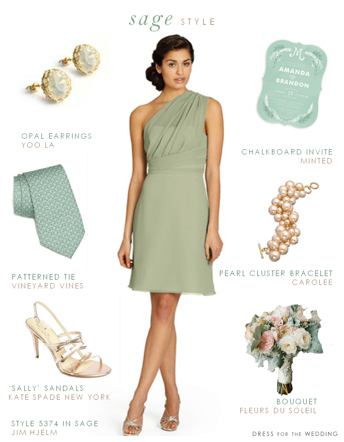 pale green bridesmaid dress