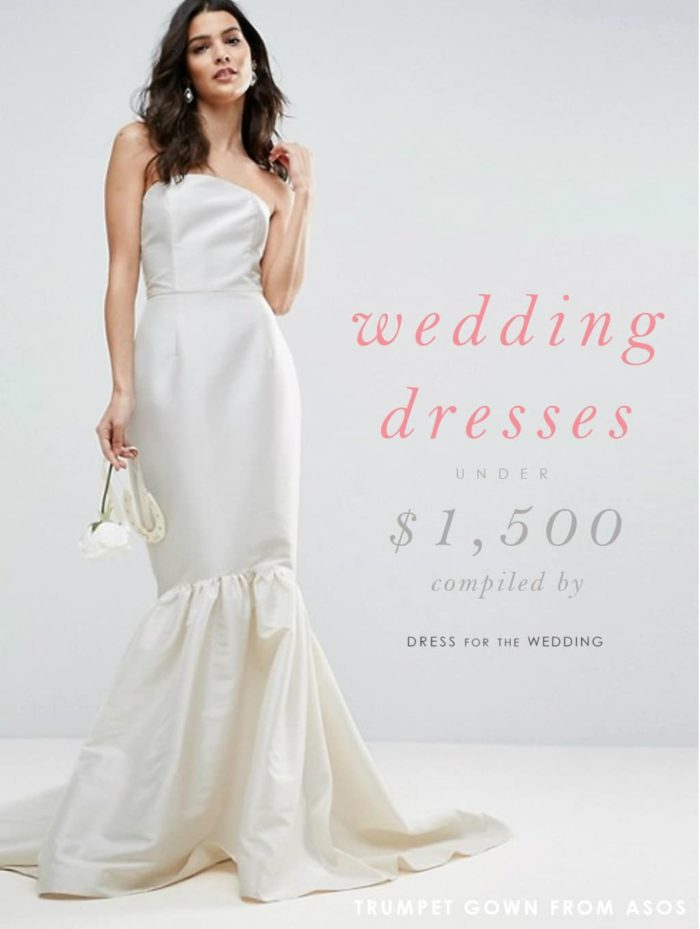 Wedding Dresses Under 1500 : Affordable wedding dresses under dollars