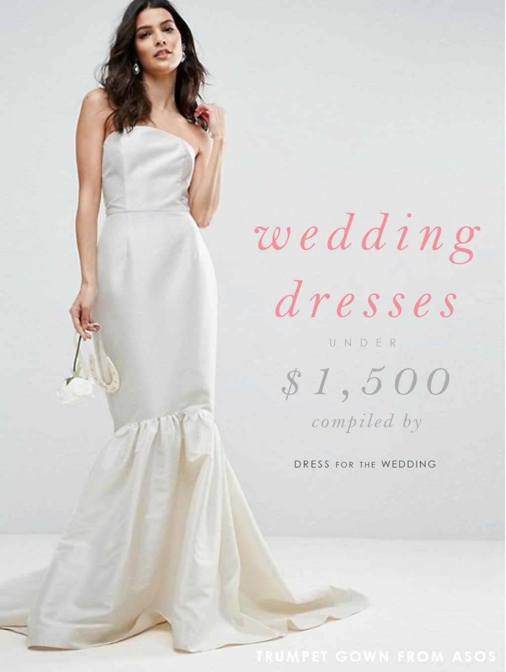 Wedding Dresses Under $1,500