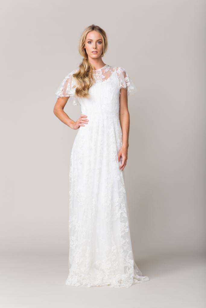 Lace wedding dress | 'Calais' by Sarah Seven