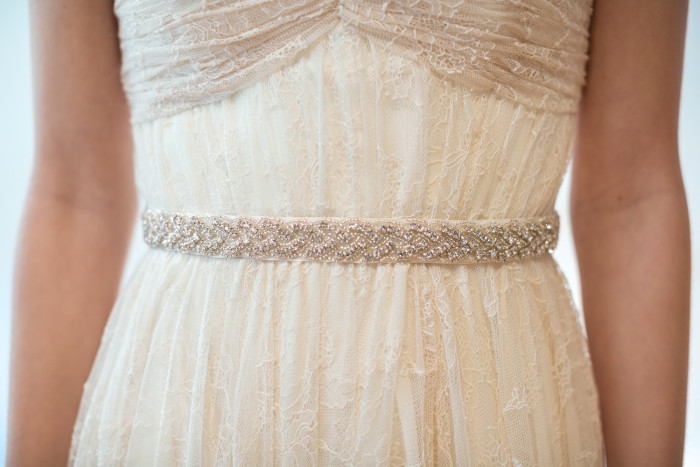 Beaded bridal belt by Powder Blue Bijoux on Etsy image by Maru Photography