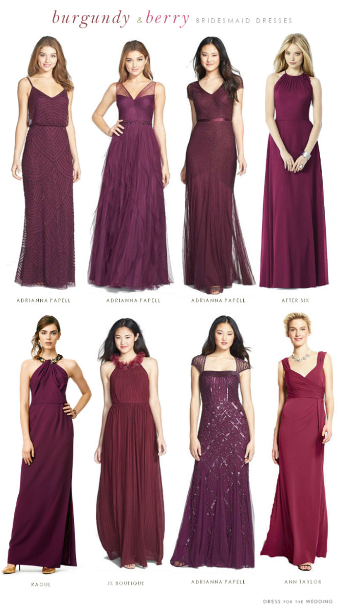 Burgundy mismatched bridesmaid dresses burgundy bridesmaid dresses to mismatch or match ombrellifo Image collections