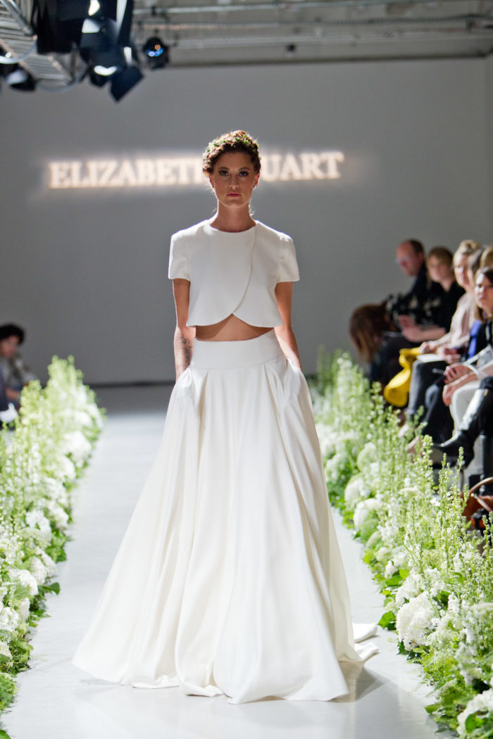 Elizabeth Stuart Wedding Dress 'Moonflower'