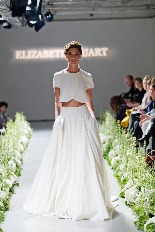 Wedding Dress of the Day: Elizabeth Stuart \'Moonflower\'
