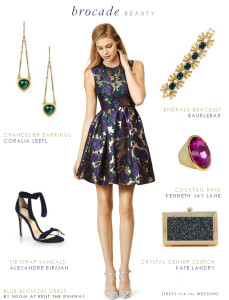 Brocade Party Dress