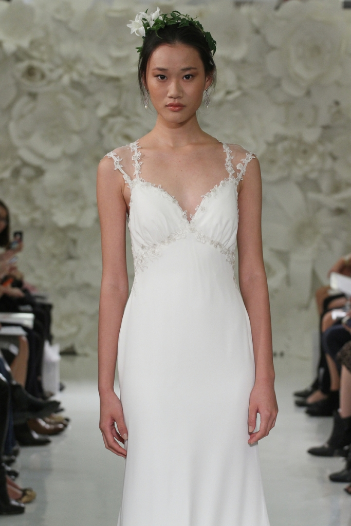 Romantic wedding dress called Rosalie, a beautiful bridal gown