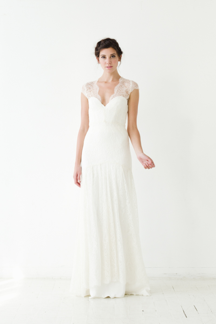 Ludlow Gown Sarah Seven Wedding Dresses 2015