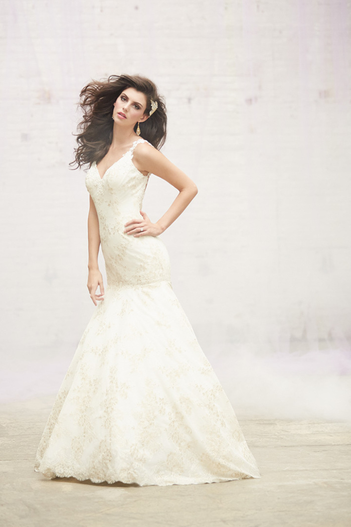 Madison James Wedding Dresses Spring 2015 Style MJ105