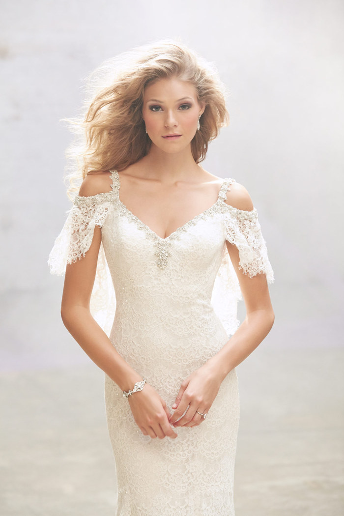 Cotton Lace Wedding Dresses
