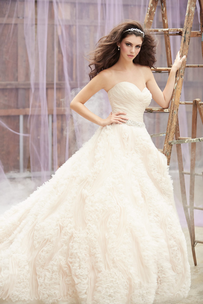 Ballgown wedding dress by Madison James