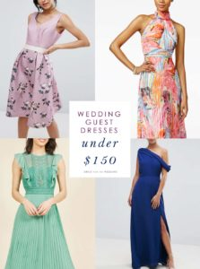 Wedding Guest Dresses Under $150