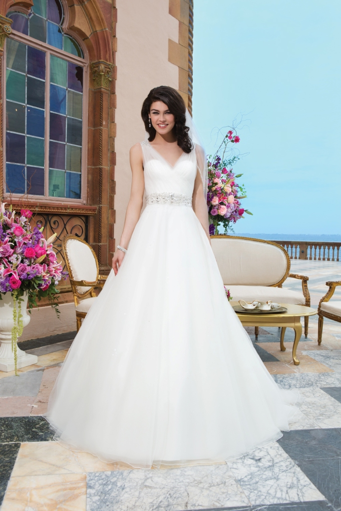 Style 3843 from Sincerity Bridal
