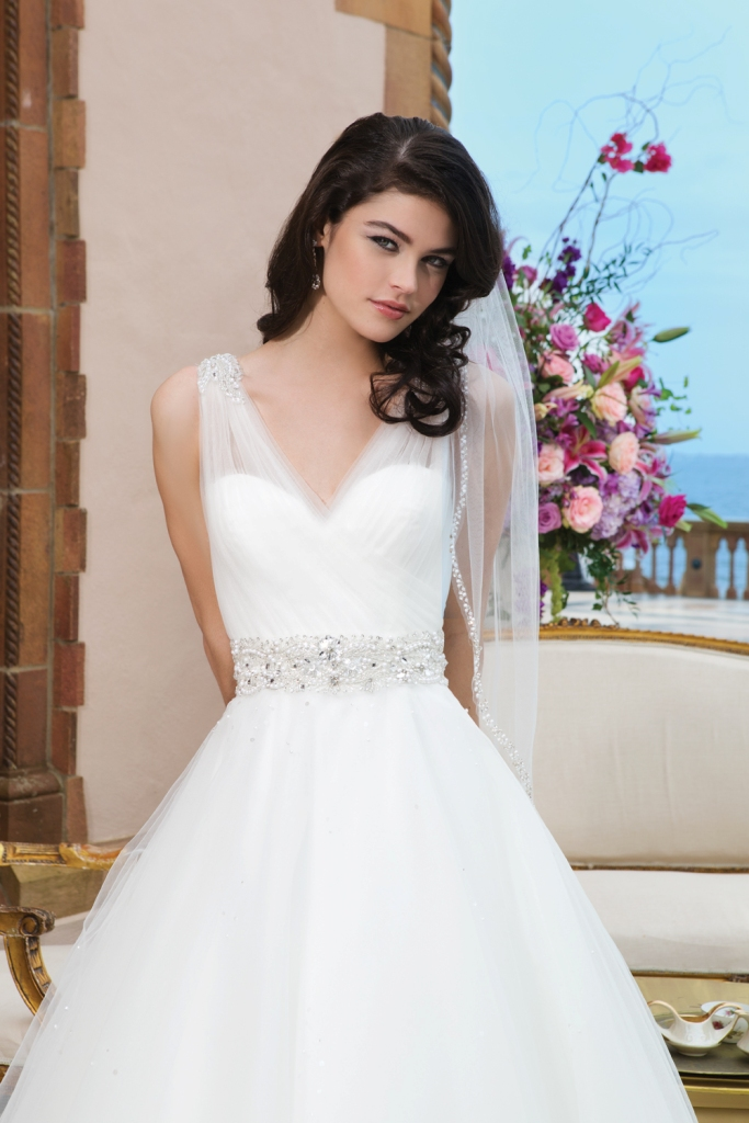Style 3843 by Sincerity Bridal