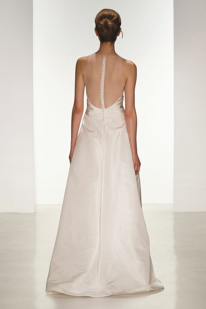 Cory back detail Amsale Wedding Dresses