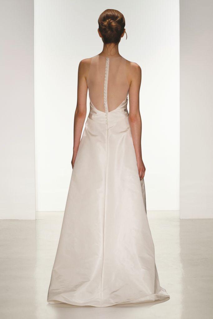 Cory back detail Amsale Wedding Dresses