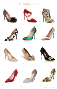 Holiday Heels: Shoes for Holiday Parties