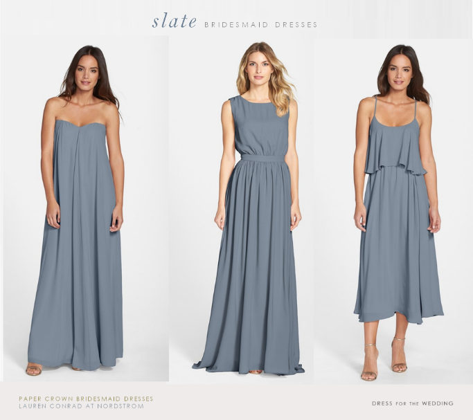 Lauren Conrad S Bridesmaid Dresses For Paper Crown