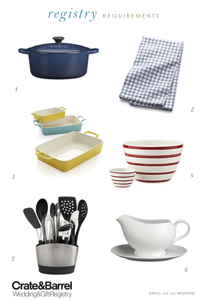Ideas for your wedding registry