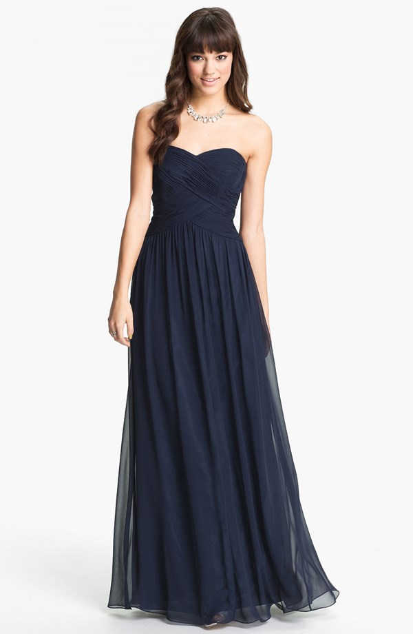 Navy bridesmaid dress under $150