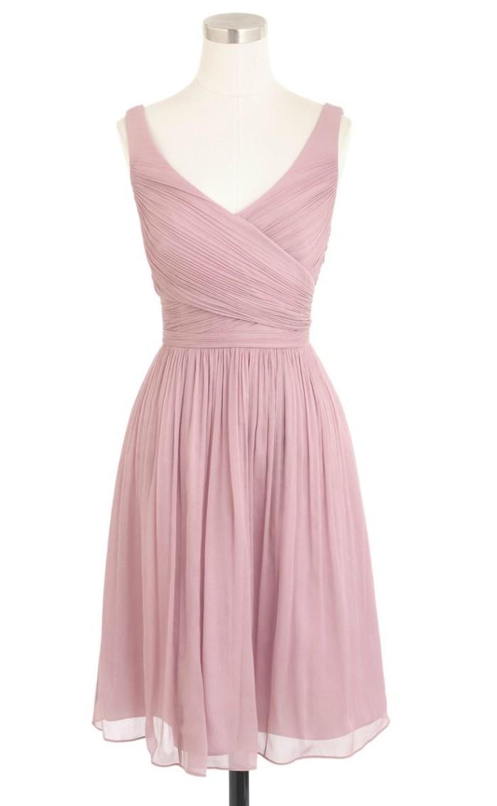 Lavender dust jcrew dress