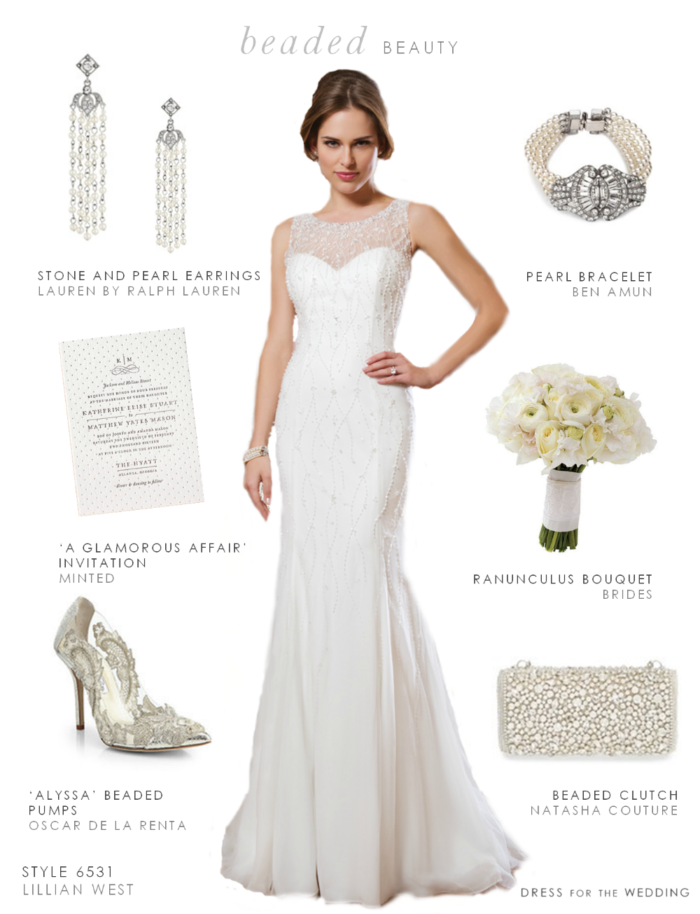 Beaded Look Featuring Lillian West Style 6531