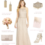 Beaded bridesmaids dresses