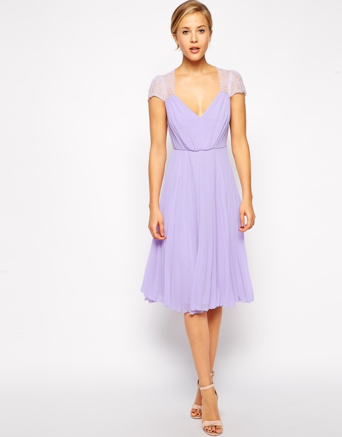 Lilac bridesmaid dress under $100