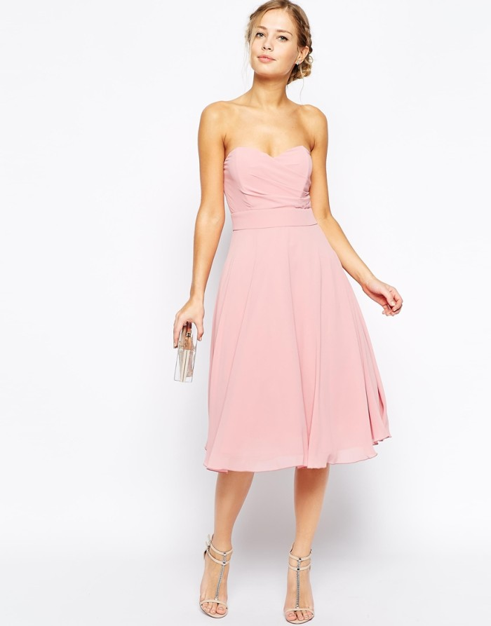 Pink Bridesmaid Dress under $100