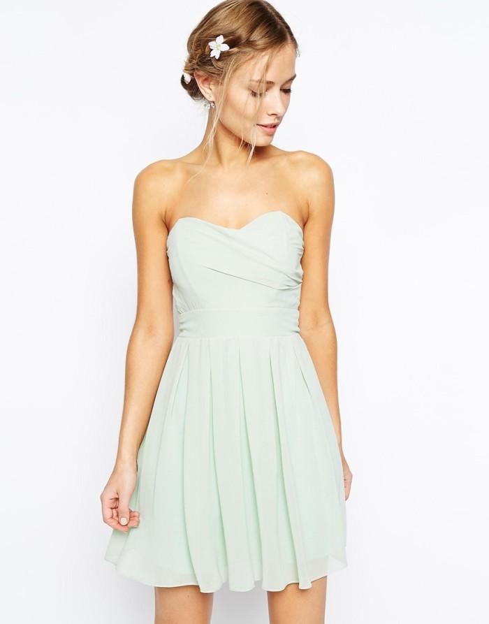pale green bridesmaid dress under $100