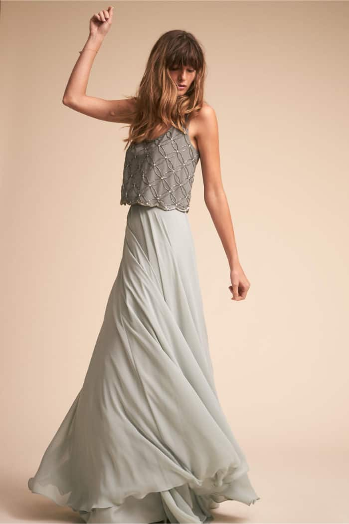 mint bridesmaid dress separates