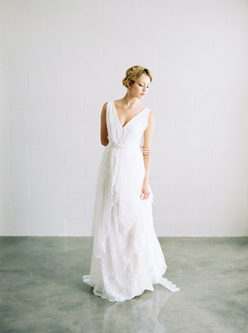 Cecilia bohemian wedding gown
