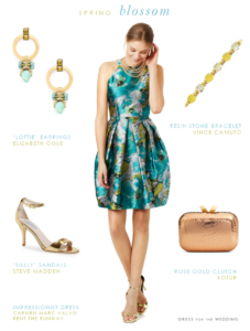 cocktail dress for spring weddings