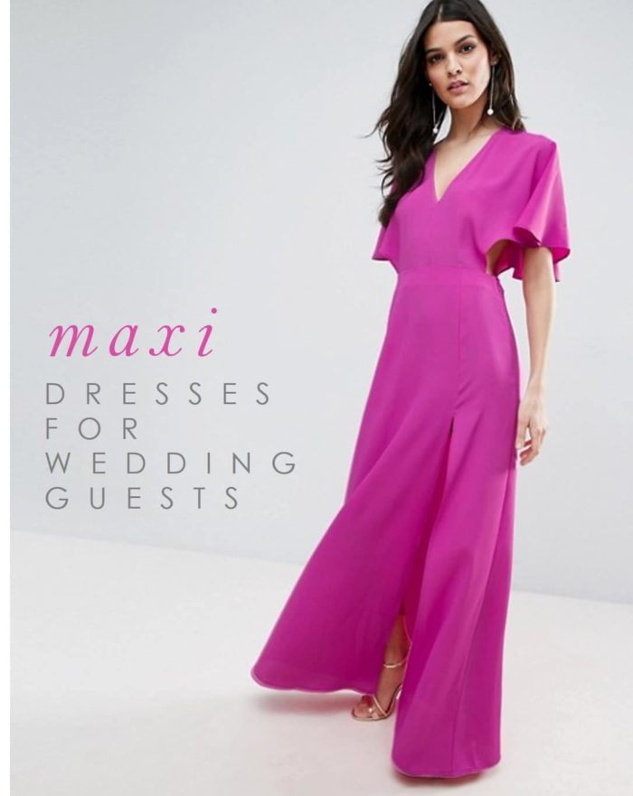 Maxi dresses for weddings for Dresses to wear wedding guest