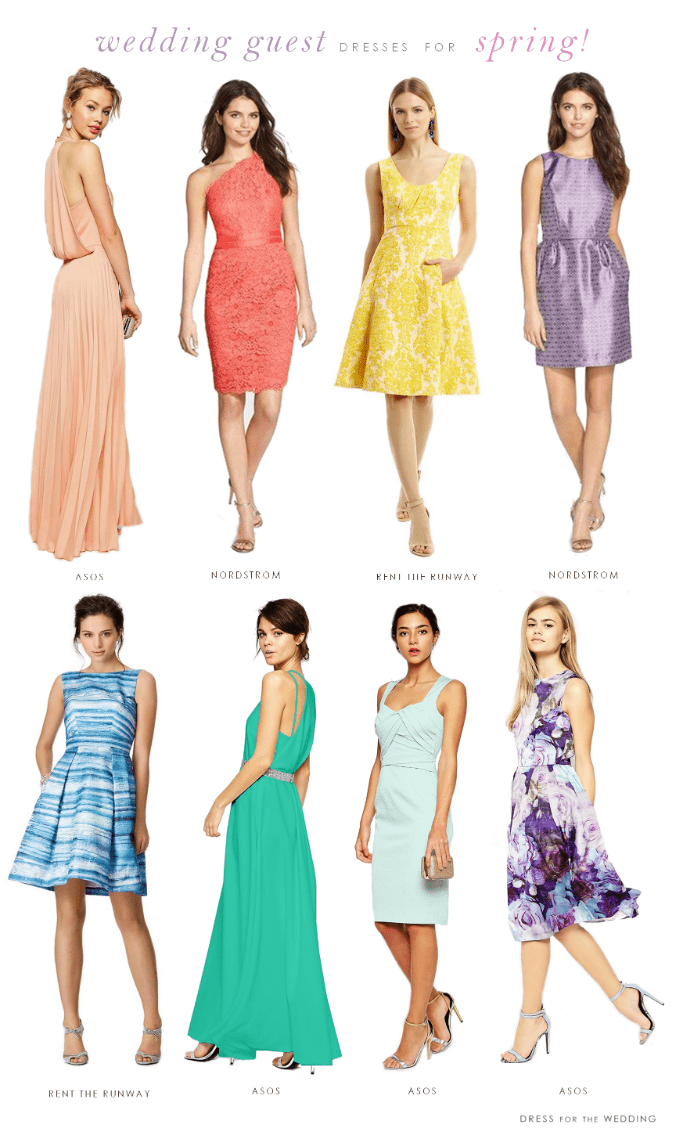 Dresses for wedding guests for spring 2015 for Dress for a spring wedding