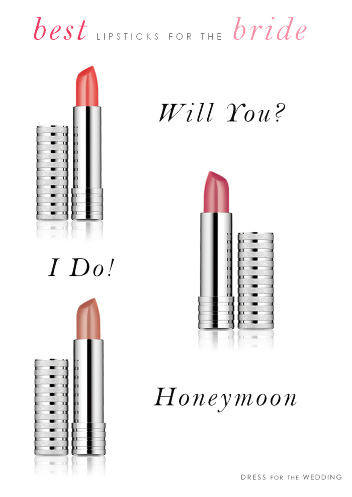 Lipsticks for your wedding day