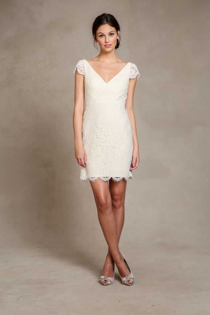 Bridgitte Little White Lace Dress