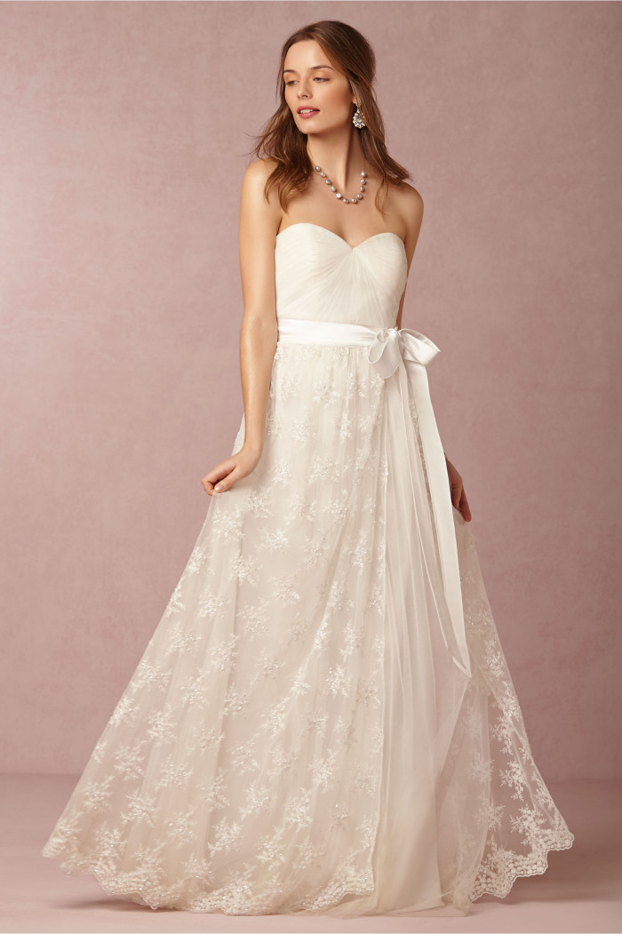 JuliaSkirt over tulle wedding dress