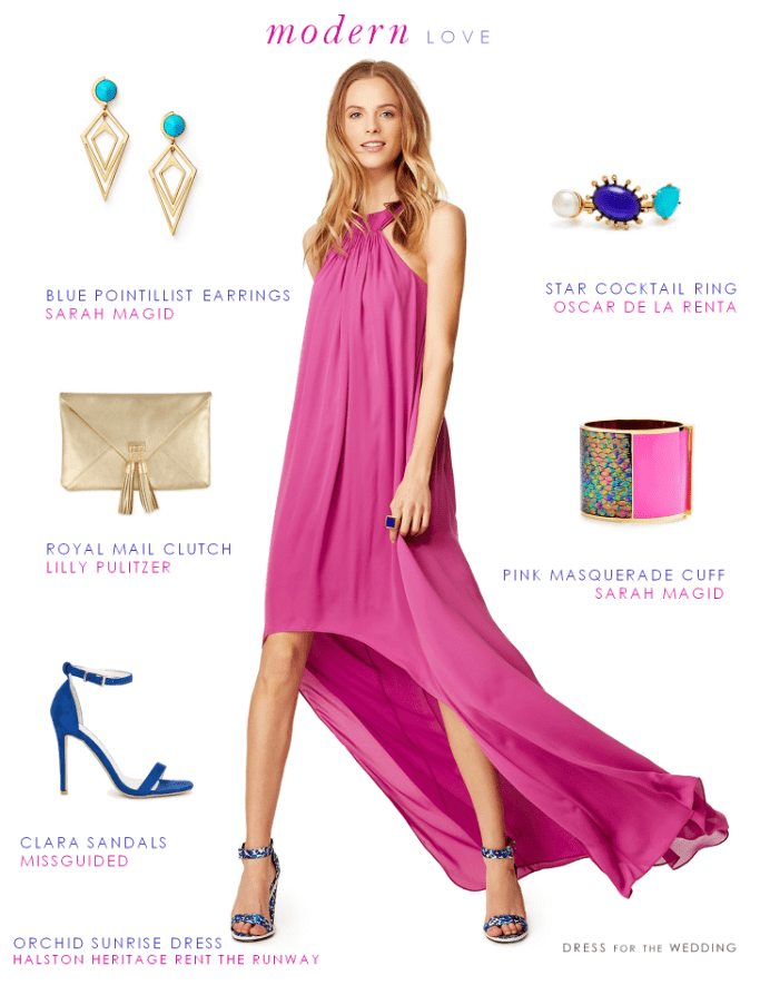 What to wear to a modern wedding for Modern wedding guest dresses