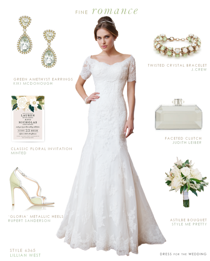 Romantic Wedding Dress by Lillian West