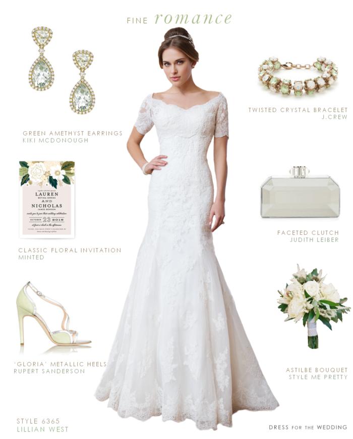 Romantic Wedding Dress by Lillian West