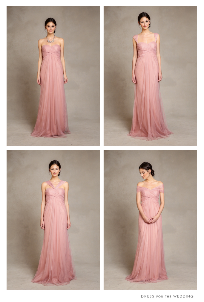 Willow Convertible Dresses for Bridesmaids by Jenny Yoo